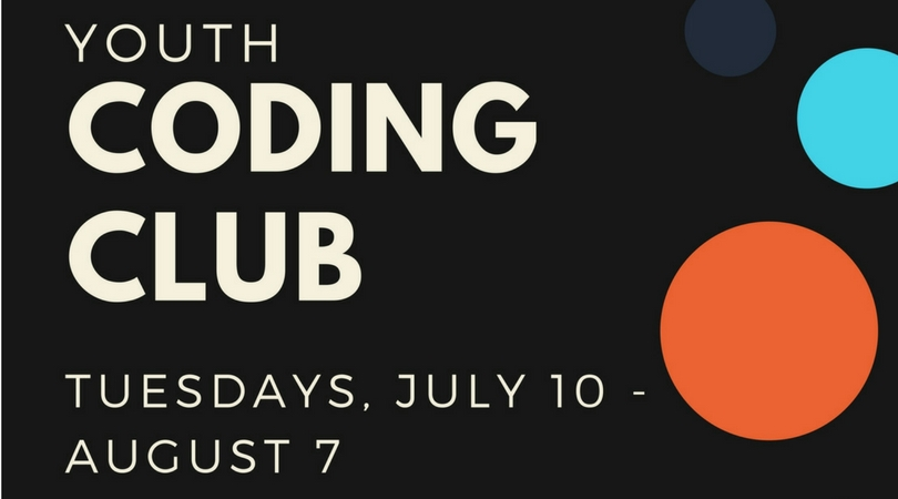 youth coding club germantown community library