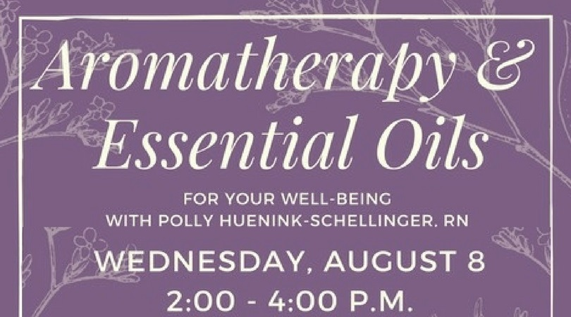 Aromatherapy And Essential Oils Germantown Community Library